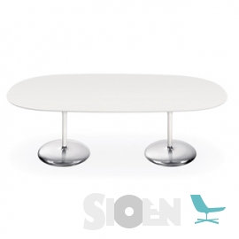 Arper - Duna Table H 74 (Dual Base)