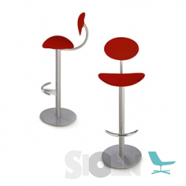 Enea - Coma Stool with Backrest