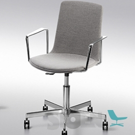 Enea - Lottus High Office - with Armrest