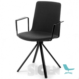 Enea - Lottus High Spin Armchair - 4 Star Base (Fixed or Swivel)