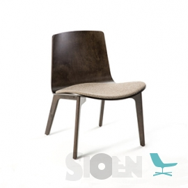 Enea - Lottus Lounge Wood Chair