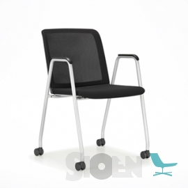 Haworth - Comforto 29 Guest Chair with Wheels - Lively
