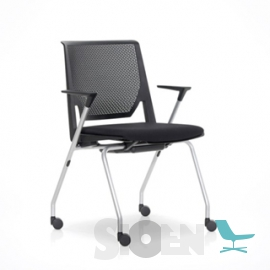 Haworth - Comforto 62 Very Seminar Chair 4 Legs with Wheels
