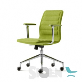 Haworth - Lotus - Low Chair with Armrest