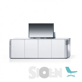 Interstuhl - Silver 873S and 874S - Cabinet with Flat Screen Space