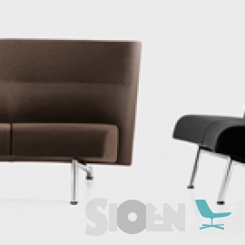 Lammhults - Newport Easy Chair en Newport Sofa