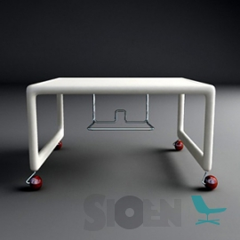 Magis - Air-TV Table (on Wheels)