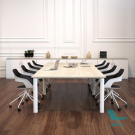 Palmberg - Conference Table - 4 Legs - Round Tube