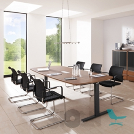 Palmberg - Crew - Conference Table - T-Foot