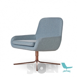 Softline - Coco Swivel with Copper