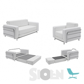 Softline - Silver - Chair - Sofa