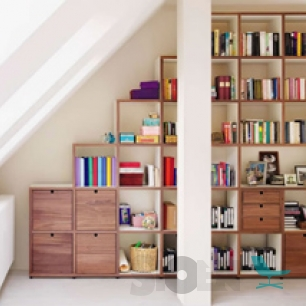 Flötotto Shelving 355 / Floetotto