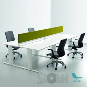 InterDesk - Workstation T-Line - Bench
