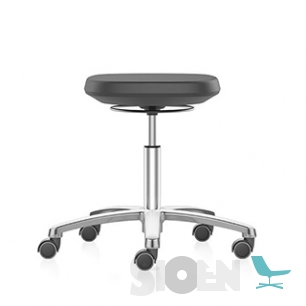 Interstuhl - Bimos 9127 Labsit Stool - 5 Ways with Castors