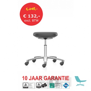 Interstuhl - Bimos 9127 Labsit Stool - 5 Ways with Castors - PROMO