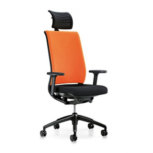 Interstuhl - Hero 265H - High Back with Headrest - Fabric