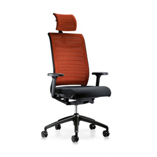 Interstuhl - Hero 275H - High Back with Headrest - Mesh