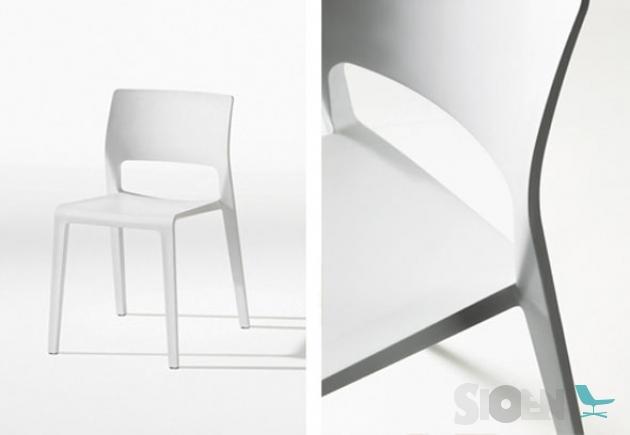 Arper Juno Stoel : Arper juno open backrest sioen furniture