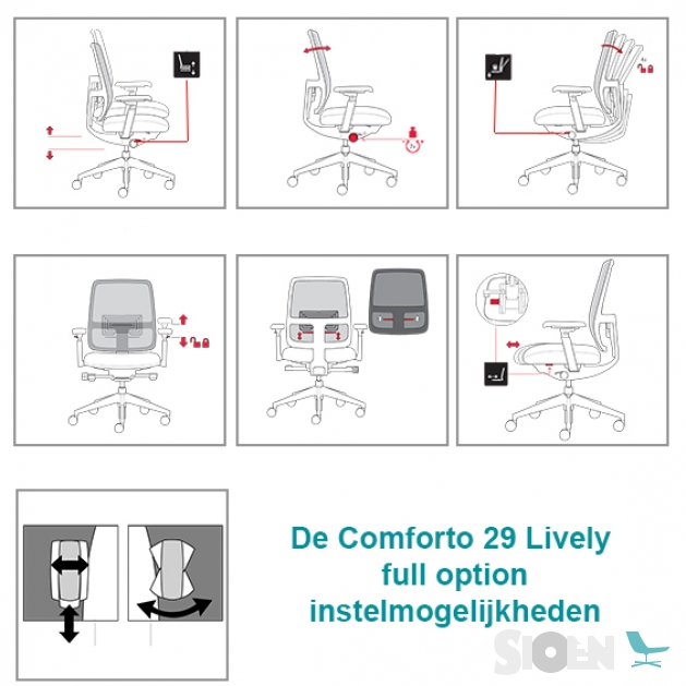 Outstanding Haworth Comforto 29 Office Chair Lively Sioen Furniture Short Links Chair Design For Home Short Linksinfo