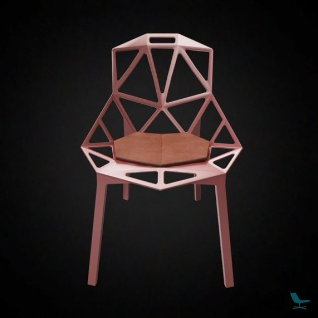 magis chair one cushion sioen furniture. Black Bedroom Furniture Sets. Home Design Ideas