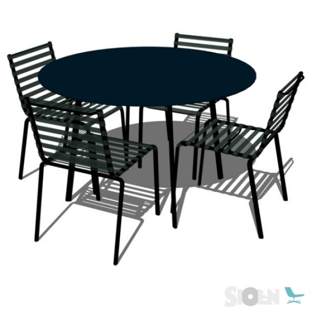 Magis Striped Tavolo Rond Tuintafel.Magis Striped Tavolo Table Round Sioen Furniture