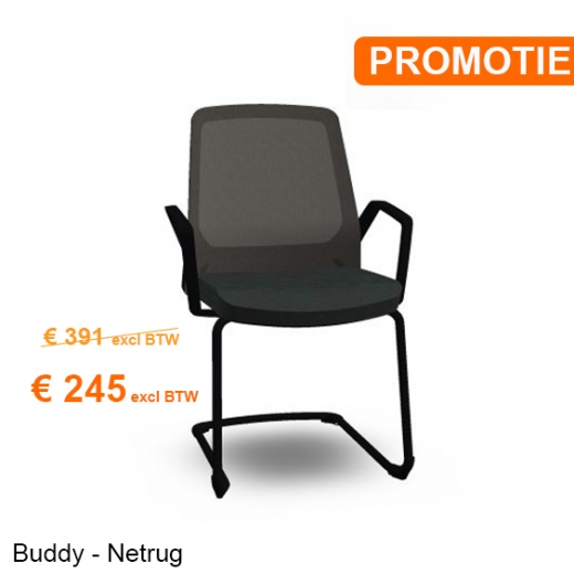Interstuhl - BUDDYis3 570B - Cantilever with Armrest - PROMO