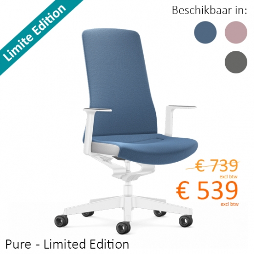 Interstuhl - Pure gestoffeerd, Limited Edition