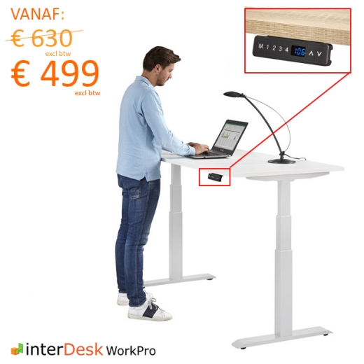 interDesk - WorkPro - Elektrische bediening